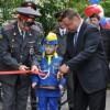 В Северске открылась  детская автоплощадка