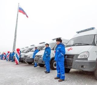 Все районы области получили современные автомобили скорой помощи
