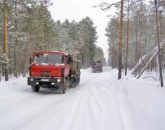 «Томскнефть» завершает строительство зимников