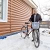 Пенсионер из Асина проехал пол-России на велосипеде