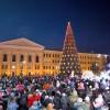 Открытие новогоднего городка на Новособорной собрало тысячи томичей