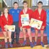 Самбисты привезли в Томск медали всех достоинств