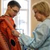 Депутат Госдумы посетила томский Центр медицинской реабилитации.