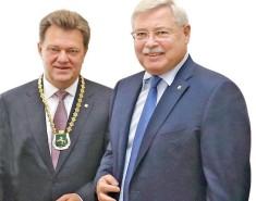 Томский градоначальник вступил вдолжность