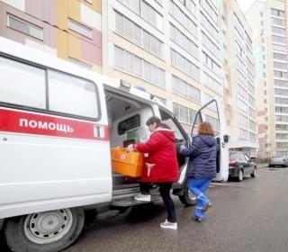Каждый день  на томских улицах работают 40бригад скорой помощи
