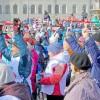 В Томске прошел фестиваль  дляэнергичных ног икрепких рук