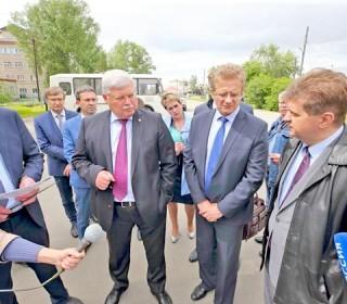 Губернатор Сергей Жвачкин нашел вКолпашевском районе пример для подражания