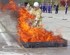 Добровольные пожарные дружины «Томскнефти» не уступят профессионалам