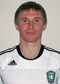 защитник «Томи» Виктор Строев