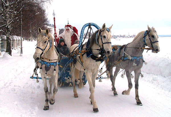 """Проект  """"Великий Устюг - родина Деда Мороза """" был основан в"""