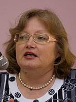 Наталья Егорова, начальник отдела РПЦО
