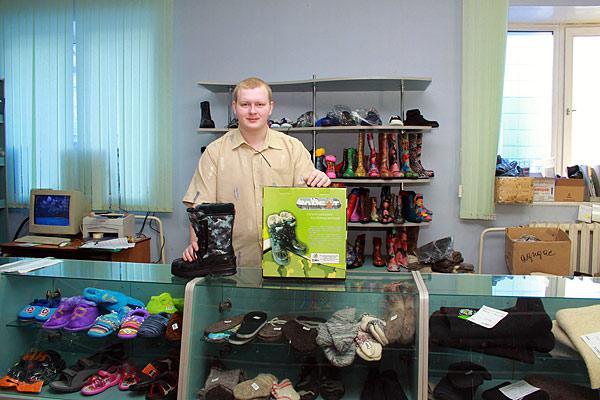 В фирменном магазине ТЗРО продукция продается по ценам производителя