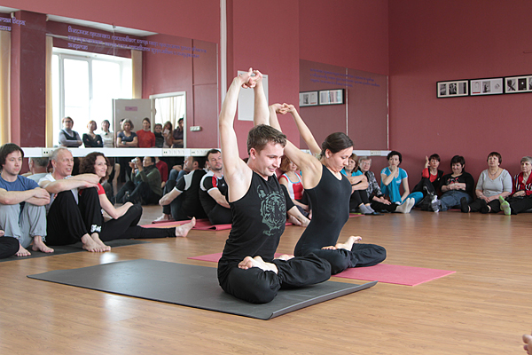 Йога упражнения третий глаз