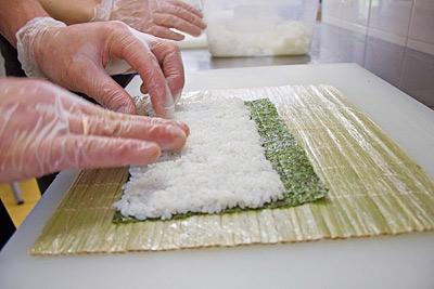 Как сделать суши дома если у вас нет циновки