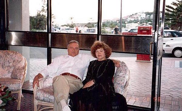 Александр Андросов с любимой спутницей жизни Тамарой. Они уже 48 лет вместе