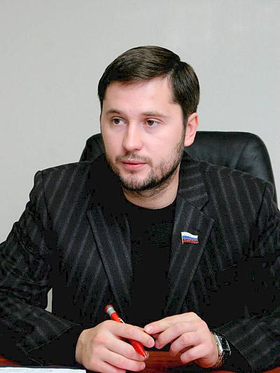 Депутат Законодательной думы Томской области Сергей Кравченко