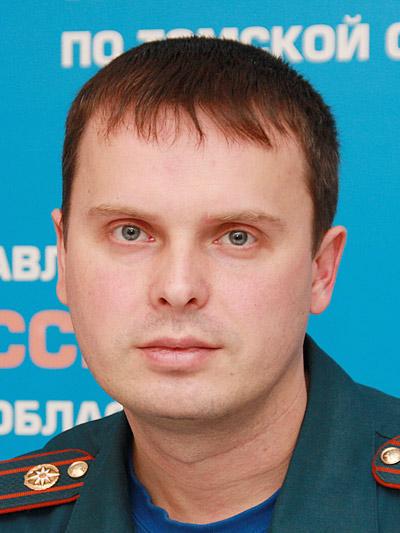 Евгений Пинчуков, и. о. начальника пресс-службы областного управления МЧС