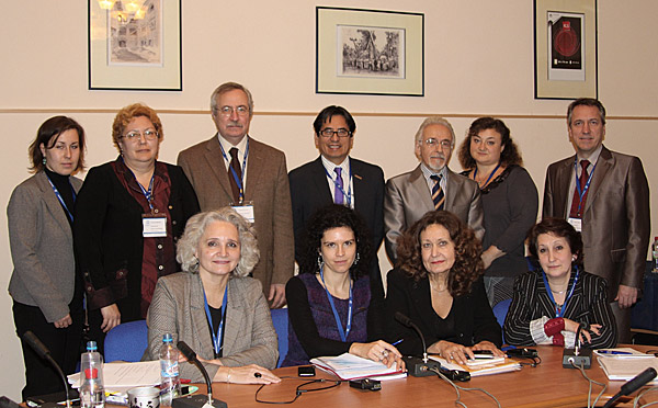 На международной конференции ЮНЕСКО по медиаинформационной грамотности российское медиаобразование представляла Ирина Жилавская (крайняя слева в первом ряду)