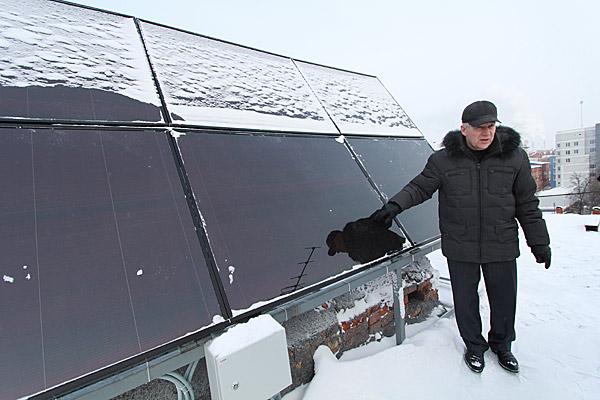 Батарея-солнечная