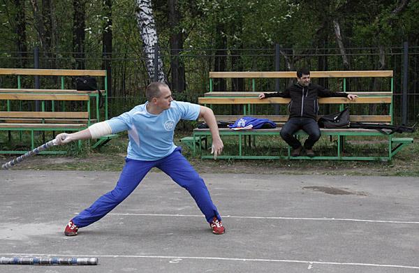 Владимир Синьков:  тренировка чемпиона мира
