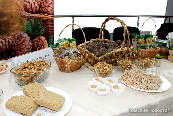 Кедровые сладости - халва из кедрового ореха, казинаки, мармелад - новинка томских инноваторов