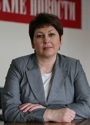 Исполняющий обязанности главы Первомайского района Ирина Сиберт