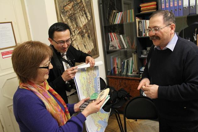 музейщики  и В.Ханевич