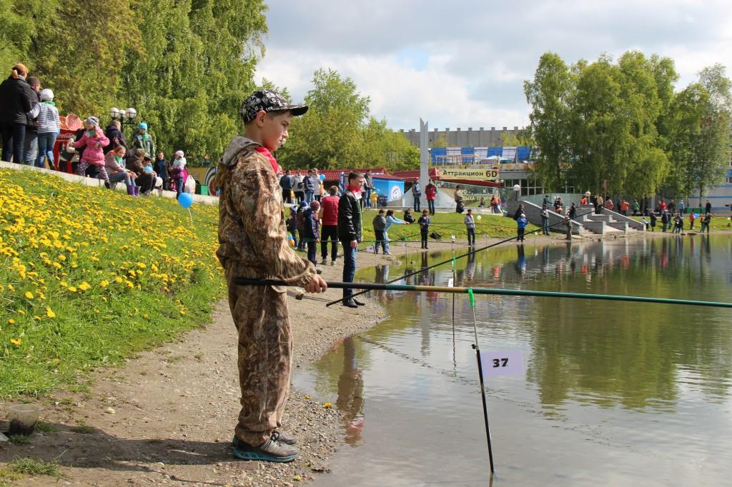 рыбалка в томске в июне