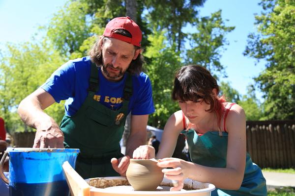 глиняный мастер