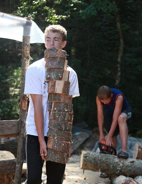 Дети в лагере Эколог 05