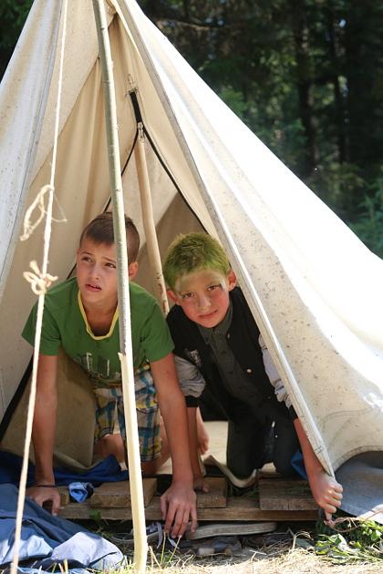 Дети в лагере Эколог 06