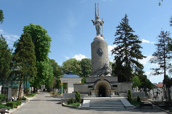 Памятник русской славы в Белграде