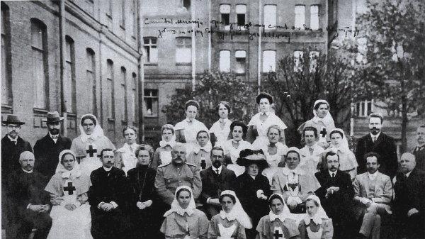 Русская санитарная миссия из Петрограда в Нише в 1914 году