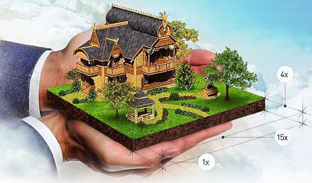 Земельный участок и объект на нем прочно