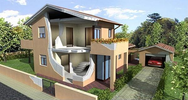 итальянские домики