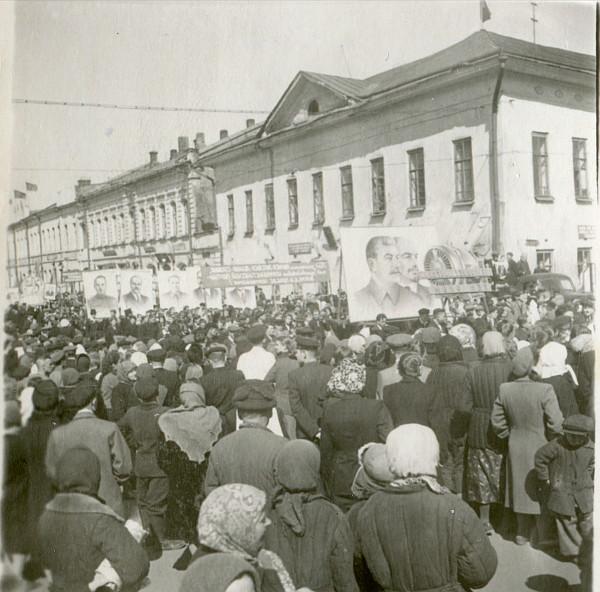 1952 год Митинг