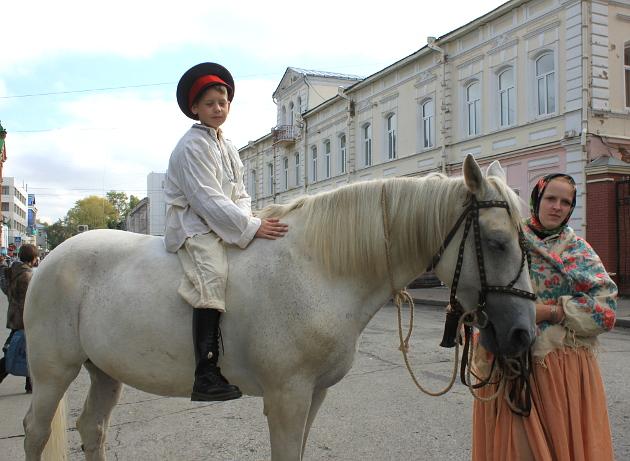 Юбилей лошадь