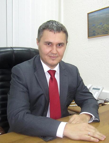 Управляющий Томским филиалом ОАО АКБ Связь-Банк Евгений Голубчиков