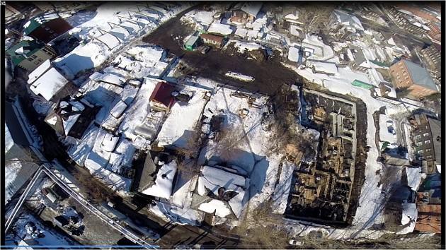 фото стройки в Татарской слобде