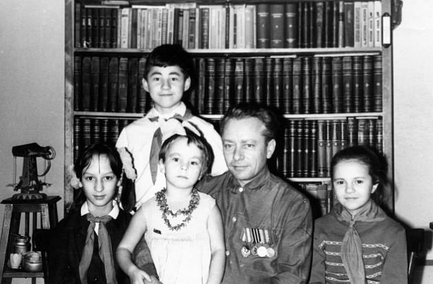 Пионеры в гостях у ветерана, Томск-7, 1966 год