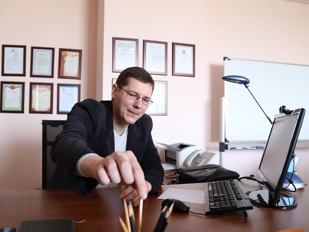 Евгений Аникин, директор Сибирской карандашной фабрики