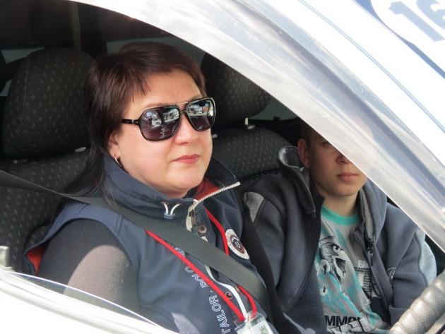 Ольга Голоушкина заняла почетное II место