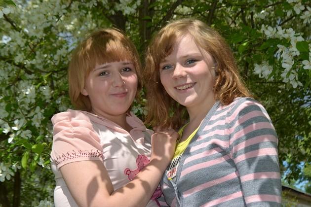 Наташа и Оксана
