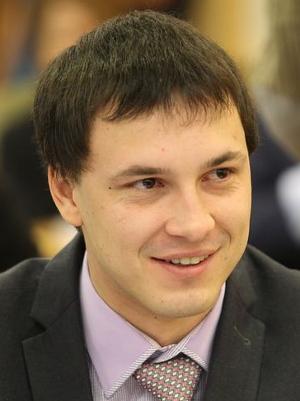 Игорь Разживин, председатель молодежного парламента Томской области