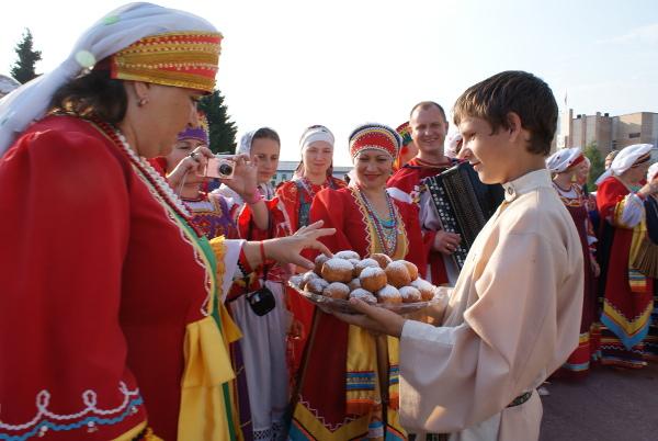 встреча гостей из Алтая на пышк фестивале