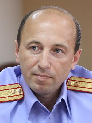 Начальник отдела процессуального контроля Герман Шумков, подполковник юстиции