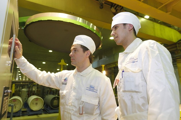 Завод разделения изотопов установка перелива 2