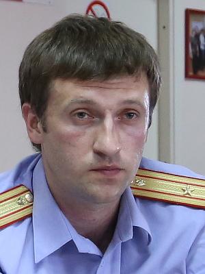 Старший следователь-криминалист Виталий Брытков, майор юстиции