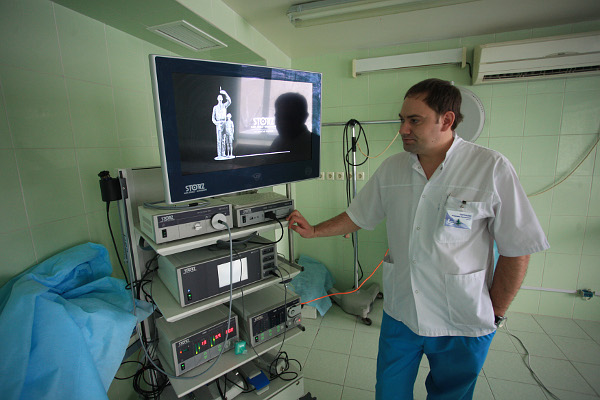 Госпрограмма по модернизации здравоохранения помогла приобрести современное медоборудование