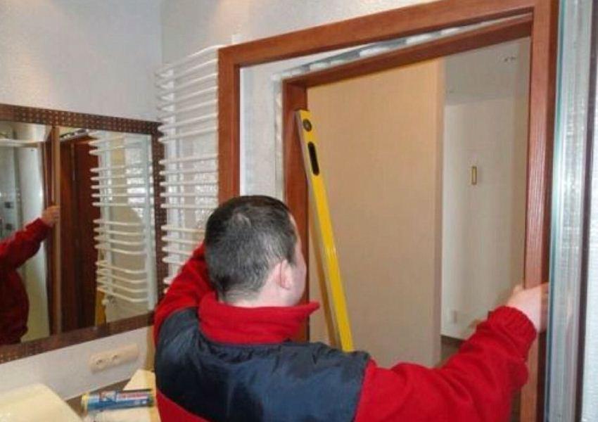 Ремонт установка дверей своими руками